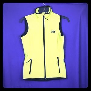 The North Face Women's Vest Neon Yellow - XS